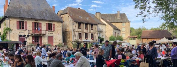 Ségur-le-Château is one of Les plus beaux villages de France.