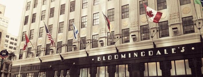 Bloomingdale's is one of New York.