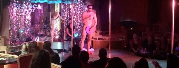 Carioca Cabaret is one of strip clubs 3 XXX.