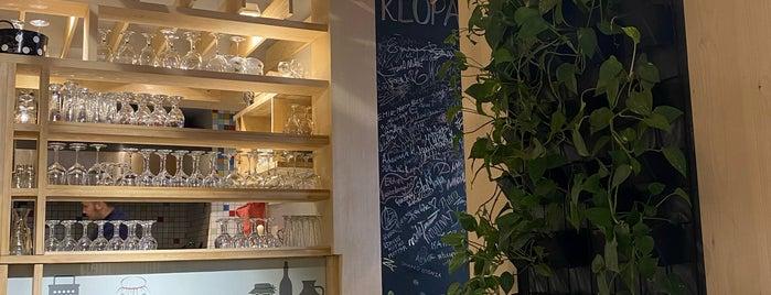 Klopa is one of Lieux sauvegardés par Deep.