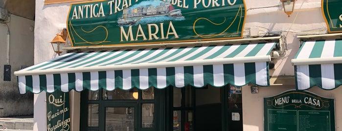 """Antica Trattoria Del Porto """"Maria"""" is one of Sardinya-Genova."""