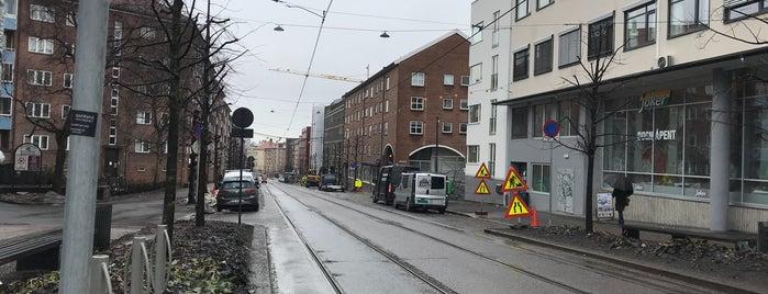 Trondheimsveien is one of faenza.