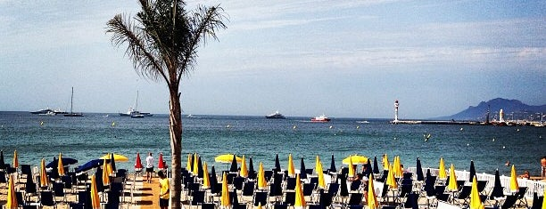 La Plage du Festival is one of Cannes, France.