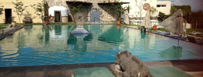 Spa Termal Cosala is one of สถานที่ที่บันทึกไว้ของ Paulina.
