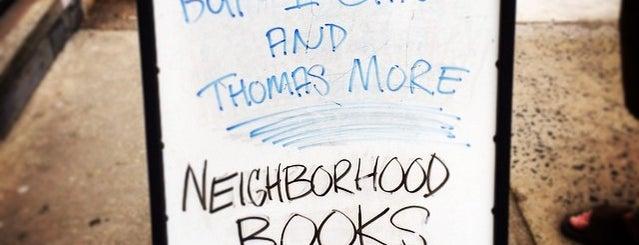 Neighborhood Books is one of Philly.