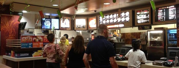McDonald's is one of Judd'un Beğendiği Mekanlar.