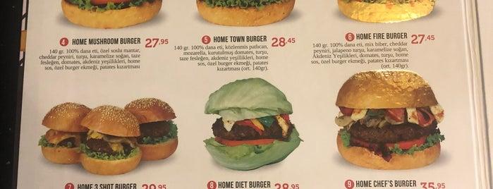 Burger Home is one of Orte, die Onur gefallen.