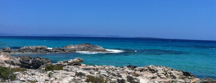 Sa Roqueta is one of Formentera.