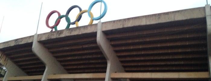 Estadio Olímpico Venustiano Carranza (Pista de Atletismo) is one of Tempat yang Disukai Nath.