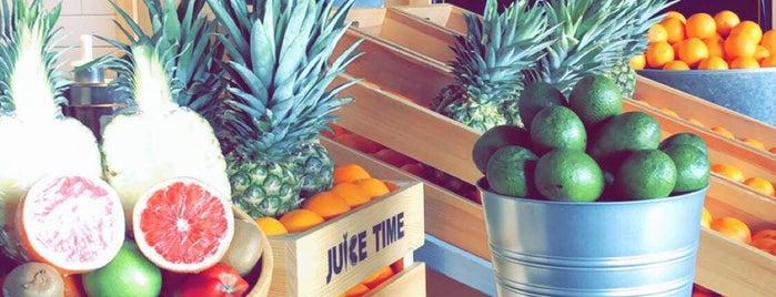Juice Time is one of Lieux sauvegardés par Queen.