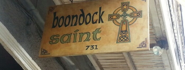Boondock Saint is one of New Orleans.