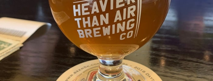 Heavier Than Air Brewing Company is one of Posti salvati di Tom.