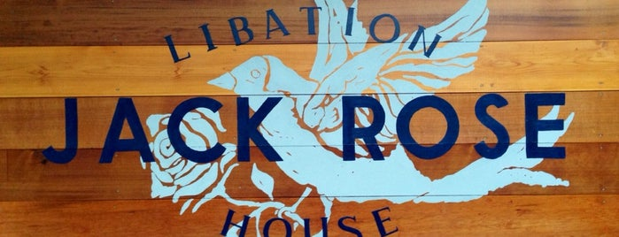 Jack Rose Libation House is one of Lugares guardados de Nick.