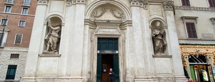 Chiesa dei Santi Claudio e Andrea dei Borgognoni is one of ROME - ITALY.