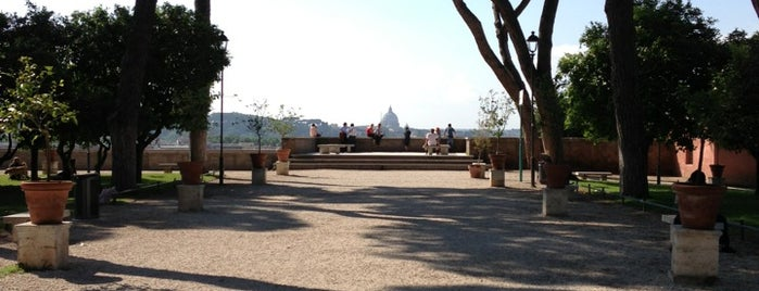 Aventine Hill is one of Rome.