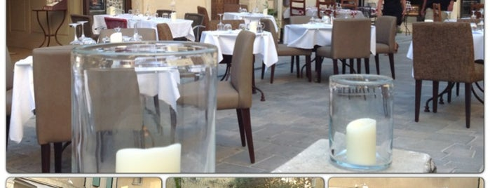 Restaurant Café-Veranda is one of Honeymoon - Provence.