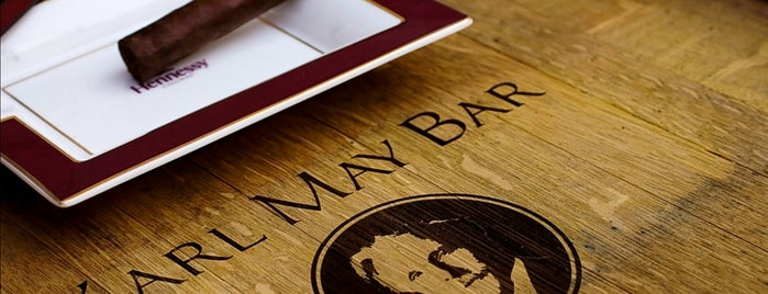 Karl May Bar is one of Food / to try.