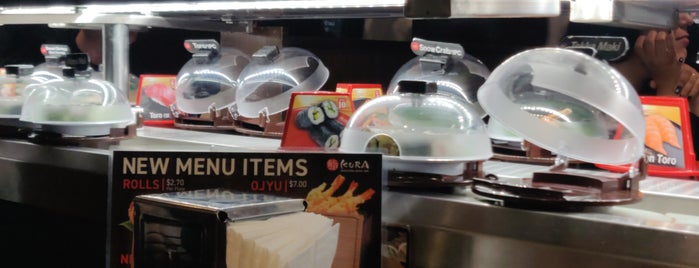 Kula Revolving Sushi Bar is one of Jackさんのお気に入りスポット.