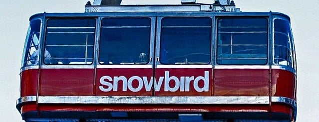 Snowbird Tram is one of UTAH, Not Just Mormons.