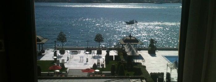Four Seasons Hotel Bosphorus is one of Istanbul.