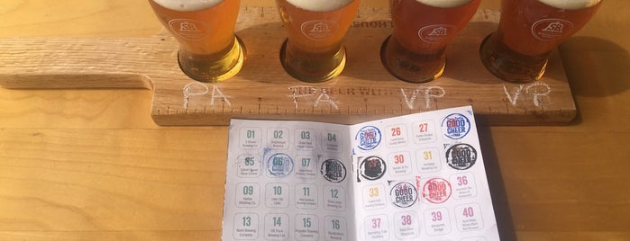 Schoolhouse Brewery is one of Tempat yang Disukai Stef.