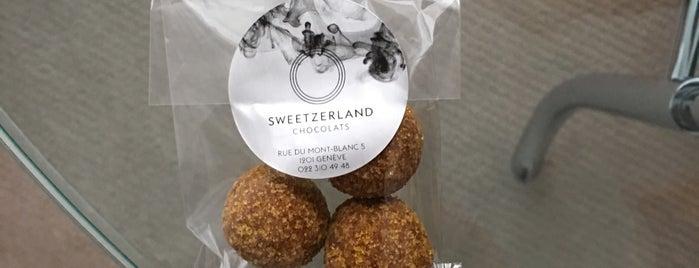 Sweetzerland Chocolats is one of Lugares favoritos de Frederik.