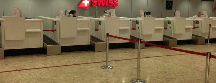 Check in - Geneva Airport is one of Geneva (GVA) airport venues.