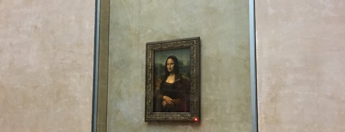 Mona Lisa | A Gioconda is one of Locais curtidos por Q ♡.