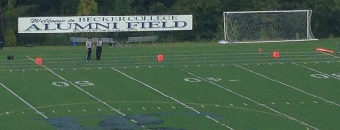 Alumni Field is one of out of town.