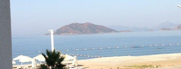Lukka Beach Lounge(JiVA) is one of Fethiye koylar&beachler 🧜🏼♀️.