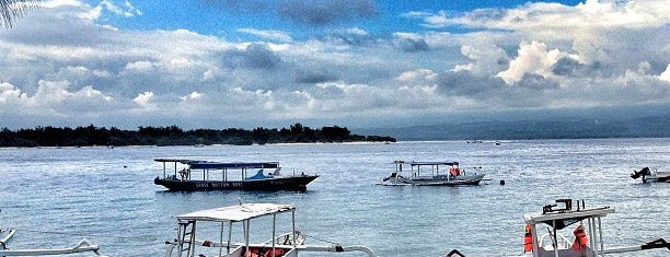 Gili Trawangan Harbour is one of Gili Trawangan.