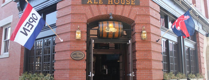 Hanley's Ale House is one of Rhode.