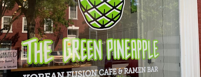 The Green Pineapple is one of DC Suburbs.