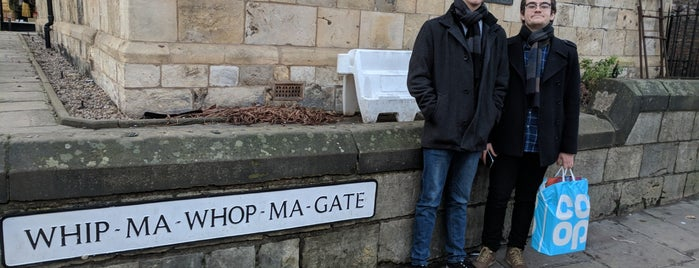 Whip Ma Whop Ma Gate is one of York.