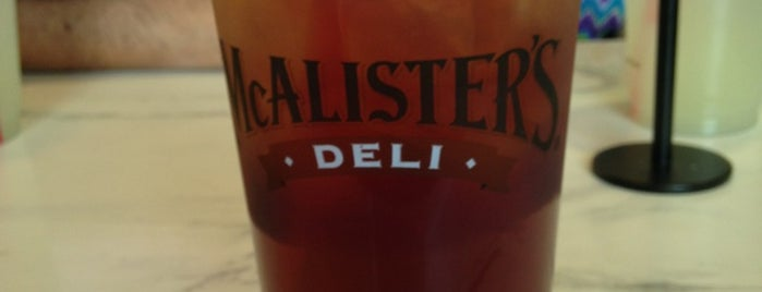 McAlister's Deli is one of Outside-of-Austin Traveler.