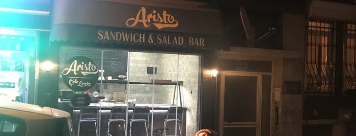 Aristo Sandwich Bar & Take Away is one of สถานที่ที่บันทึกไว้ของ Ismail.