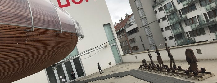 DOX Centre for Contemporary Art is one of Prag.