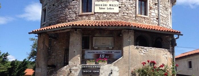 Vojaški Muzej Tabor is one of Top Locations rund um Triest (ca. 50 km) SLO, ITA.