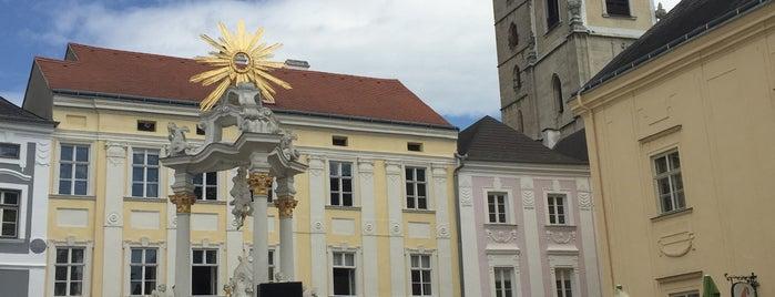Rathausplatz Stein is one of Tempat yang Disukai David.