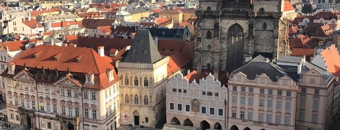 Staroměstská radnice is one of Prag.