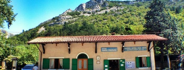 Rifugio Premuda is one of Top Locations rund um Triest (ca. 50 km) SLO, ITA.