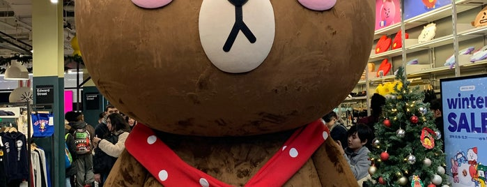 LINE Friends Store is one of Lugares favoritos de Tania.