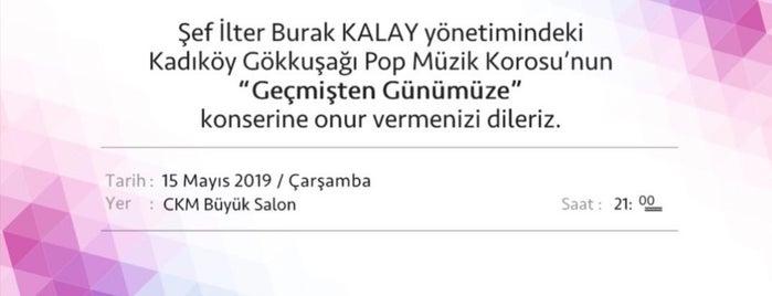 Kadıköy Gökkuşağı Pop Müzik Korosu is one of สถานที่ที่ 1sen ถูกใจ.