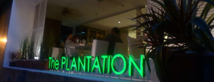 The Plantation Bar + Bistro is one of When in Makati.
