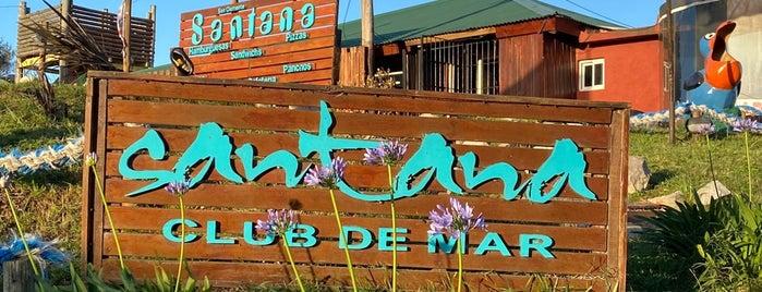 Santana Club de Mar is one of my places.