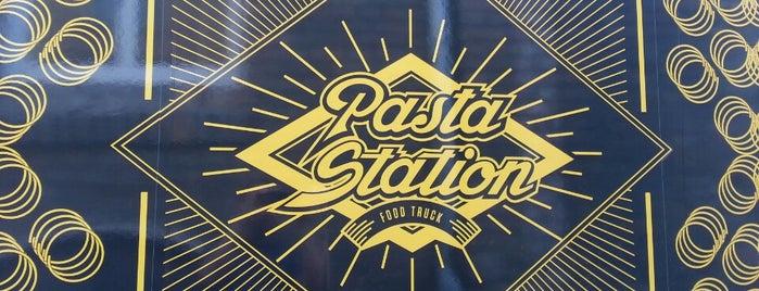 The Pasta Station is one of สถานที่ที่บันทึกไว้ของ Mate.