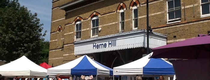 Herne Hill Market is one of London.