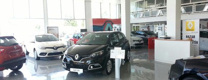 Renault Nazar Otomotiv is one of Özgür 님이 좋아한 장소.