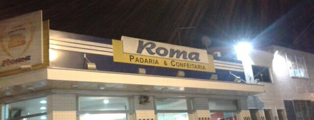 Padaria Roma is one of Tempat yang Disukai Katia.