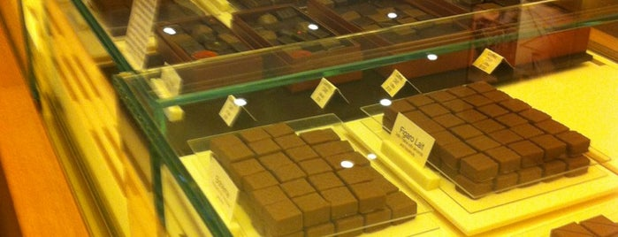 La Maison du Chocolat is one of FiDi.